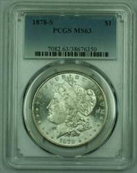 1878 S Morgan   S$1 PCGS (C) (26)