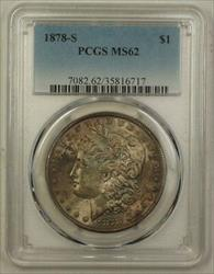 1878 S US Morgan   $1  PCGS Nicely Toned 4