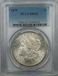 1879 $1 Morgan   PCGS Better Quality 5A
