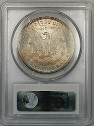 1879 $1 Morgan   PCGS Reverse Toning 5A