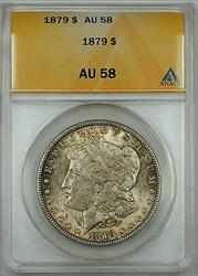 1879 Morgan    ANACS  Lightly Toned (Better )