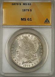1879 Morgan   $1  ANACS (6A)