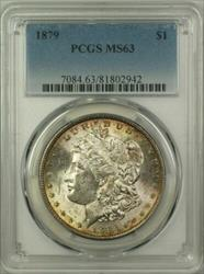1879 Morgan   $1  PCGS Toned (14)