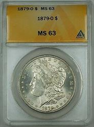 1879 O Morgan    ANACS  Better