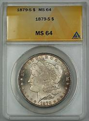 1879 S Morgan    $1 ANACS Nicely Toned Reverse
