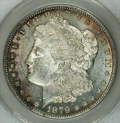1879 S Morgan    ANACS Details Cleaned (Choice) Toned