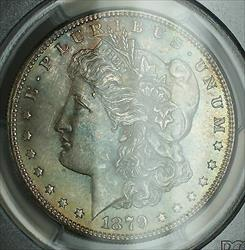 1879 S Morgan    PCGS Toned DMK