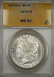 1879 S Morgan   $1  ANACS (5)