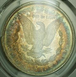 1879 S Morgan   $1  PCGS Beautifully Toned