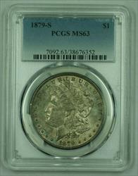 1879 S Morgan   S$1 PCGS Toned Toning (26)