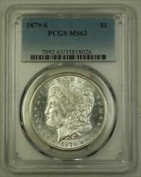 1879 S US Morgan   $1  PCGS (E) 4