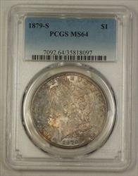 1879 S US Morgan   $1  PCGS Toned (Semi PL) 4