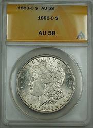 1880 O Morgan   $1 ANACS Better  BU UNC