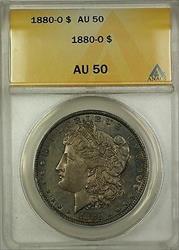 1880 O Morgan   $1 ANACS Toned (Better )