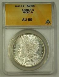 1880 O US Morgan   $1  Micro O VAM 56 ANACS