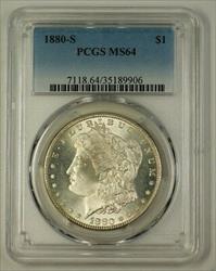 1880 S Morgan    PCGS Very Choice (B) (Better) (18)