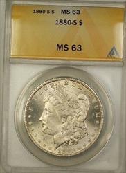 1880 S Morgan   $1  ANACS (1a)