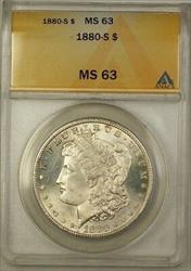 1880 S Morgan   $1  ANACS (1b)