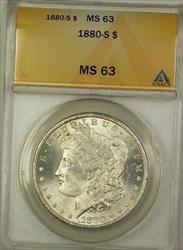 1880 S Morgan   $1  ANACS (1e)