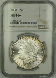 1880 S Morgan   $1  NGC + Lightly Toned (15)