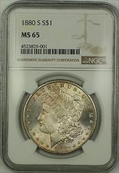 1880 S Morgan   $1  NGC Toned Gem (15)
