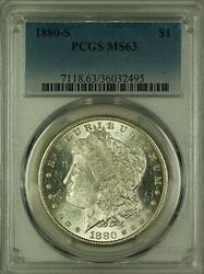 1880 S Morgan   $1  PCGS (14c)