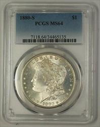 1880 S Morgan   $1  PCGS (17a) (Better)