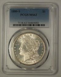 1880 S Morgan   $1  PCGS (17c) (Better)
