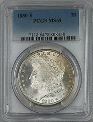1880 S Morgan   $1  PCGS (2i)