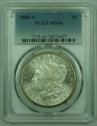 1880 S Morgan   S$1 PCGS A (25)