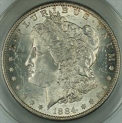 1884 S Morgan    ANACS *Better * Nearly Choice DGH