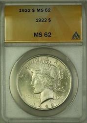 1922  Peace  $1  ANACS (A)