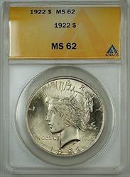 1922  Peace  $1  ANACS (Better )