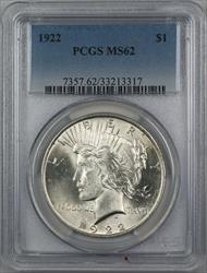 1922  Peace  $1  PCGS (12b)