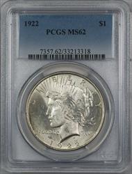 1922  Peace  $1  PCGS (12c)