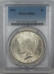 1922  Peace  $1  PCGS (12d)