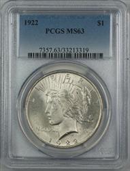 1922  Peace  $1  PCGS (12i)