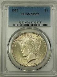 1922  Peace  $1 PCGS (Better ) (16a)