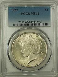 1922  Peace  $1 PCGS (Better ) (16e)