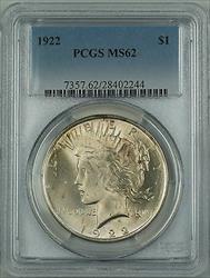 1922  Peace  $1 PCGS (Better ) DMK