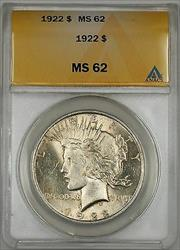 1922 Peace   $1  ANACS (10d)