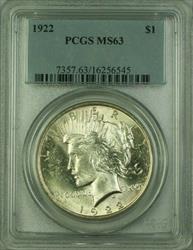 1922 Peace   $1  PCGS (16) I