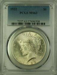 1922 Peace   $1  PCGS (16) K