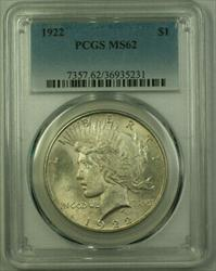 1922 Peace   $1  PCGS (21) E