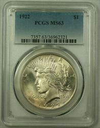 1922 Peace   $1  PCGS (21) V