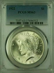 1922 Peace   $1  PCGS (Better ) (16) O