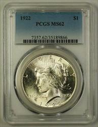 1922 Peace   $1  PCGS (Better) (E) (18)