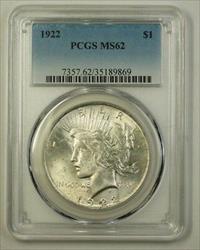 1922 Peace   $1  PCGS (Better) (H) (18)