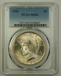 1922 Peace   $1  PCGS (F) (18)
