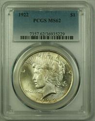 1922 Peace   $1  PCGS Better  (21) C